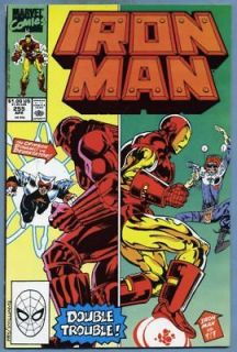 1990 Marvel Comics IRON MAN