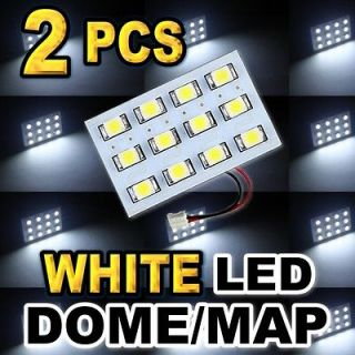 White 12 SMD LED Dome Map Interior Light #D12 (Fits Lincoln Mark LT