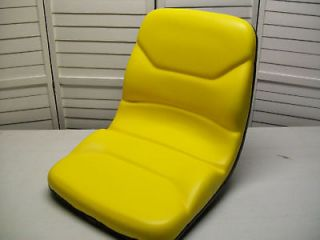 YELLOW SEAT FITS JOHN DEERE COMPACT TRACTOR 670,770,790,87​0,970,990