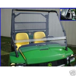 John Deere Gator XUV 825i Full Windshield with Quick Connect Roll Cage