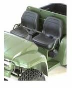 New Pair of Genuine John Deere Gator seats in Black