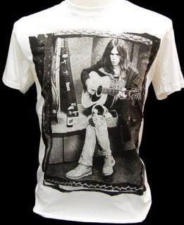 neil young shirt vintage in Clothing,