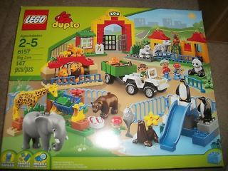 Lego Duplo Big zoo 6157 Learning and fun Animals 147 pcs New