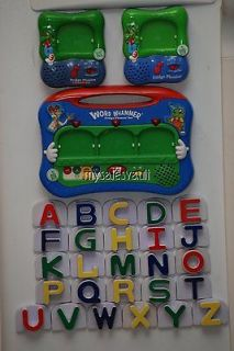 Leap Frog Magnetic Fridge Phonics Word Whammer Replacement Capital