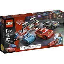 lego disney cars ultimate race set 9485 280pc time left