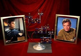 CHESS SET, William Shatner & Leonard Nimoy Signed AUTOGRAPH, COA, UACC