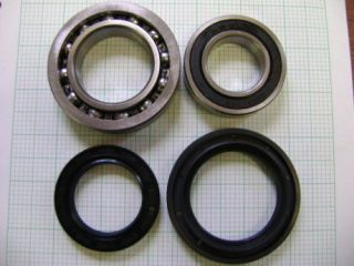 2000 2002 YAMAHA YFM400 YFM 400 KODIAK REAR AXLE BEARINGS SEALS