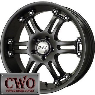 FX OR9 Wheels Rims 6x135 6 Lug Ford F150 Expedition Lincoln Navigator