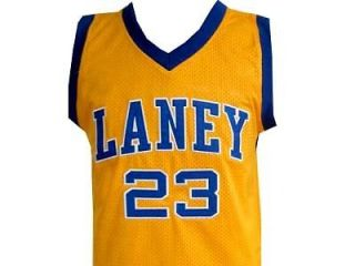 michael jordan laney high school jersey yellow new any size