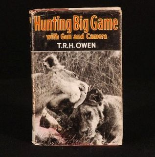 1960 hunting big game by thomas richard hornby owen from