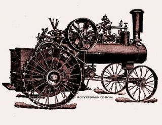 Steam Engine FARM TRACTOR traction engine boiler equipments implements