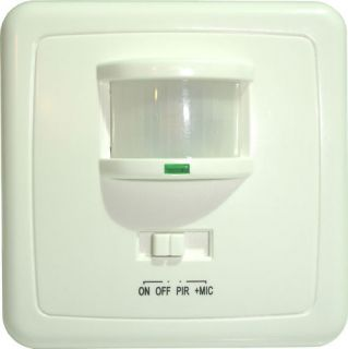 pir motion sensor sound activated light switch st01 time left