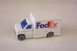 FED EX Delivery Ford Box Van Cab Truck Matchbox Superfast Diecast Toy