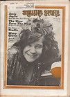 Janis Joplin on the cover of Rolling Stone   August 19