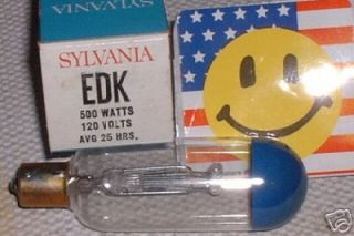 EDK SYLVANIA Made in USA Keystone Mansfield 8mm Projector Lamp Bulb