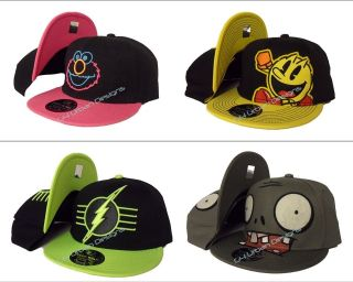 Back Cartoon Baseball Flat Cap, Simpsons, Super Mario, Sonic, Avengers