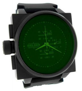 MENS BY U BOAT SPORT SQUARE BLACK DIAL CHRONOGRAPH WATCH K26 5300