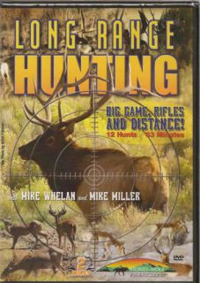 long range hunting big game rifle hunting dvd new time