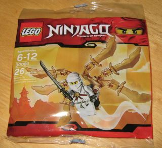 LEGO Ninjago 30080 NINJA GLIDER Polybag with Zane Minifigure New