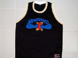 & # MONSTARS TUNE SQUAD SPACE JAM MOVIE JERSEY BLACK MICHAEL JORDAN