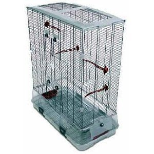 VISION II MODEL M12 MEDIUM EASY CLEAN LARGE WIRE BIRD CAGE 25x16x34