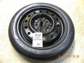 00 01 02 03 04 05 06 07 FORD TAURUS SPARE TIRE WHEEL DONUT 135/70/16