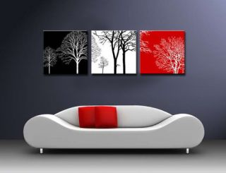 Newly listed MODERN ABSTRACT WALL CANVAS ART OIL PAINTING black white