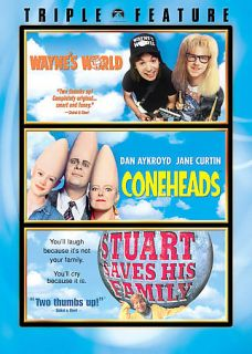 Waynes World Coneheads Stuart Saves His Family DVD, 2007, 3 Disc Set