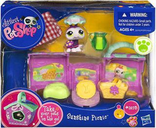 Newly listed NEW Littlest Pet Shop On the Go Picnic Ladybug 1873