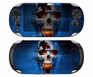 Skull 108 Vinyl Decal Skin Sticker for Sony PlayStation PS Vita PSV
