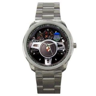 Hot 2012 Porsche Panamera Diesel Wheel Steering Sport Metal Watch