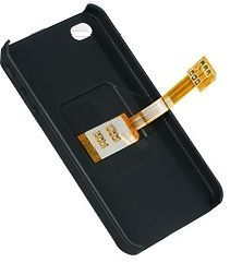 dual sim card adapter back case for apple iphone 4