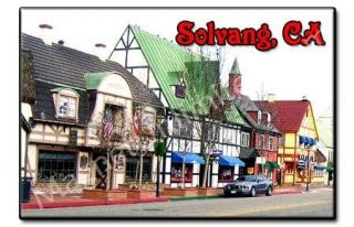 solvang california ca souvenir photo fridge magnet 1