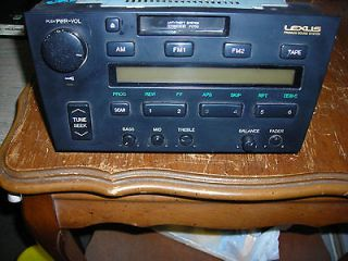 1994 LEXUS ES300 PIONEER RADIO TAPE PLAYER P1700 OEM FACTORY 1992 1993