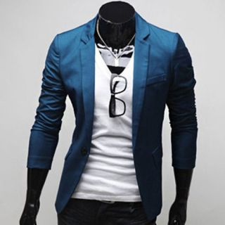 Mens Designer Slim Fit Casual & Dress Blazer Slim Fit Jackets (US SIZE