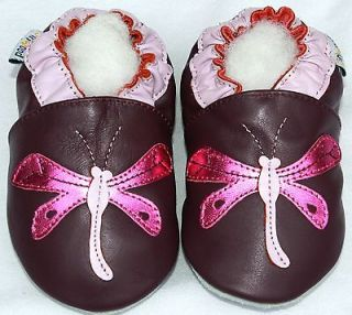 Littleoneshoes(Jinwood) Soft Sole Leather Baby Infant Children Girl