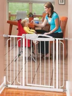 Summit Pressure Mounted Gate Quality Dog or Baby Gate EVENFLO
