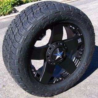 XD ROCKSTAR WHEELS RIMS NITTO TERRA GRAPPLER TIRES TOYOTA TUNDRA 5X150