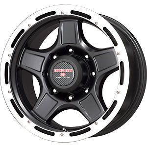 New 17X9 8x170 RACELINE WHL Raptor Black Wheels/Rims 8 Lug Ford F250
