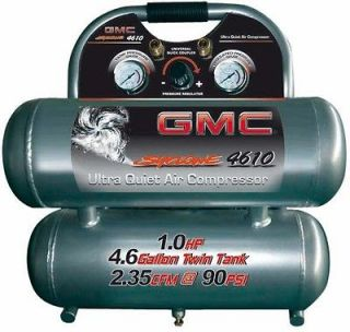 GMC Syclone 4610 Ultra Quiet , Lightweight & Oil Free Air Compressor