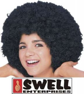 wig afro adult unisex mens ladies black washable from canada