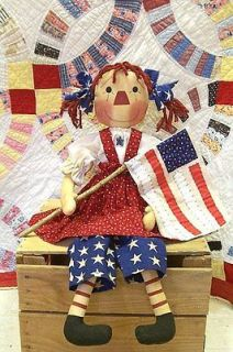 Newly listed PRIMITIVE RAGGEDY ANN PATTERN   Liberty Annie 26   FROM
