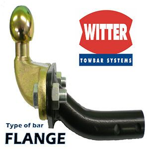Witter Towbar for Jaguar X Type Saloon 2002 On   Flange Tow Bar