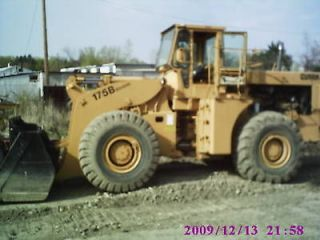 michigan 175b loader cumm diesel 5 yard bucket  19895 00