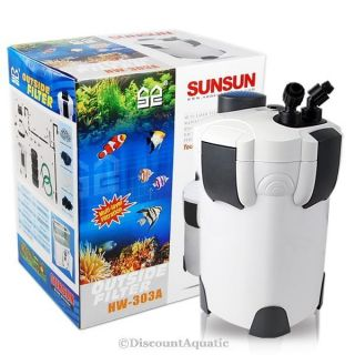 100 Gallon Aquarium Fish Tank External Canister Filter Media Kits Self