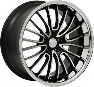 20 Concept One RS 20 Wheels Rims Black 20x8 5 5x114 3 Lincoln Lexus