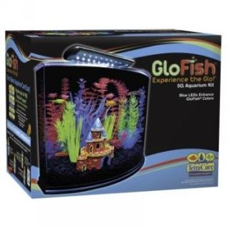 Features of GloFish Aquarium Kit with Blue LED Light, 5 Gallon
