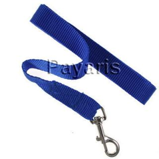Nylon Dog Leash 1 inch Wide Small to Medium Pet Lead 5 ft Long