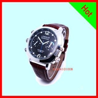 1280*720P New Mini dvr HD 720p spy camera watch Waterproof 8GB