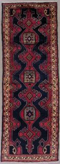 Persian Sarab Hand Knotted Wool Runner Area Rug with Abrash